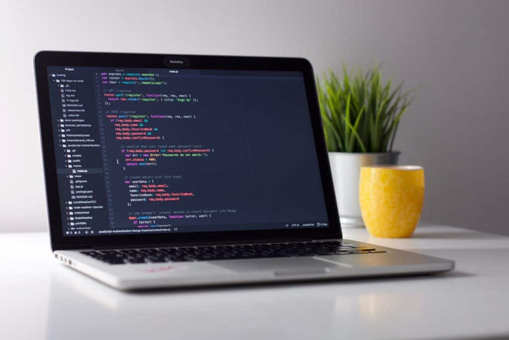 computer HTML coding