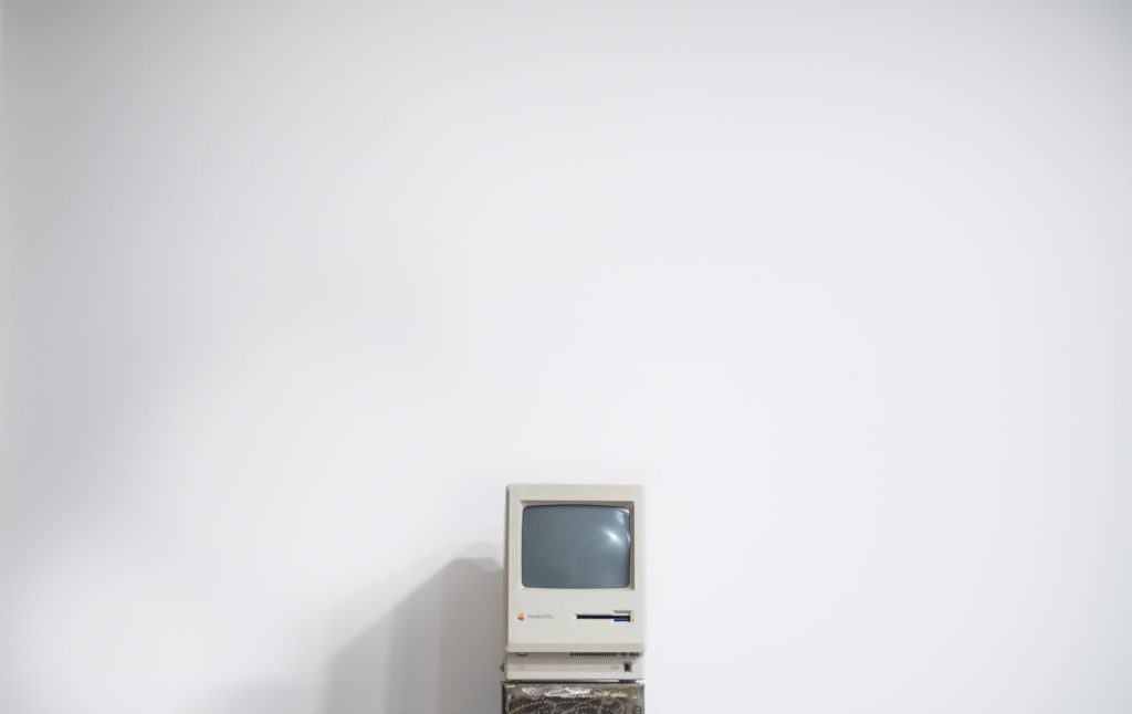 oldschool computer monitor